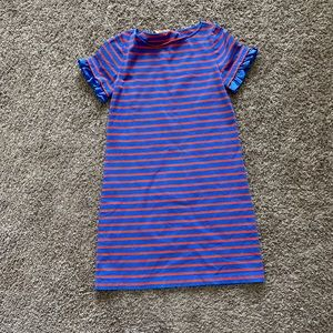 Tory Burch Striped T-Shirt Dress